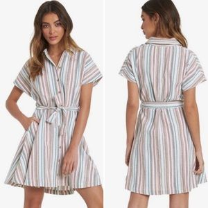 Roxy Beachward Short Sleeve Shirt Dress